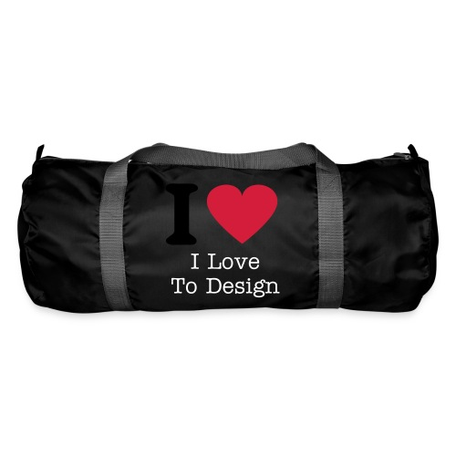 I Love Design (SPORT BAG) - Duffel Bag