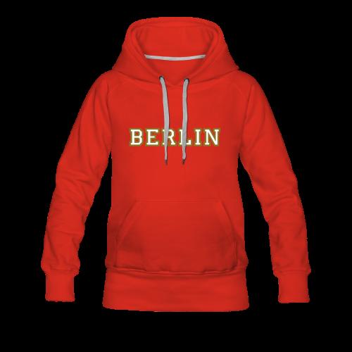 Berlin Hoodie - Frauen Premium Hoodie