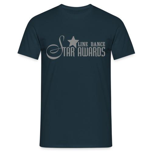 He.-Shirt Star Awards Silber Sparkle - Männer T-Shirt
