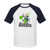 Tee shirts ~ Tee shirt baseball manches courtes Homme ~ Manches couleur Dino