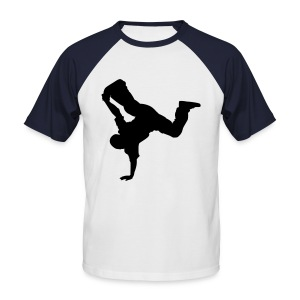 Breakdancer - Männer Baseball-T-Shirt