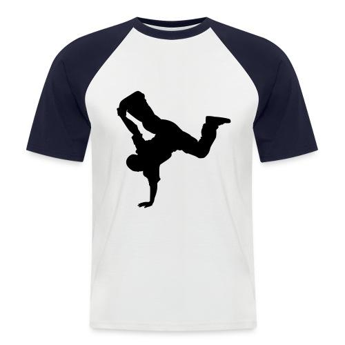 Breakdancer - Männer Baseball-T-Shirt