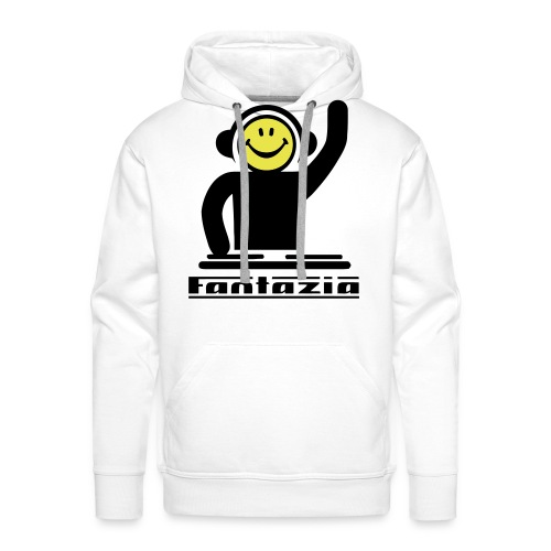 Smiley Face Fantazia DJ Hoodie - Men's Premium Hoodie