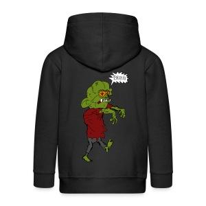Veste à capuche enfant zombie - Veste à capuche Premium Enfant