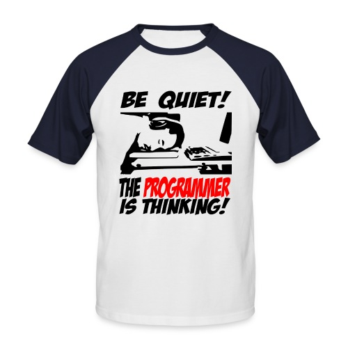 computers - Men's Baseball T-Shirt