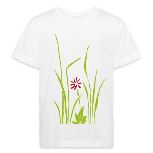 gras blume kids t-shirt - Kinder Bio-T-Shirt