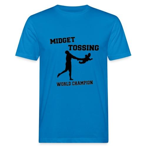Midget Tossing 100% organic cotton Tee - Men's Organic T-Shirt