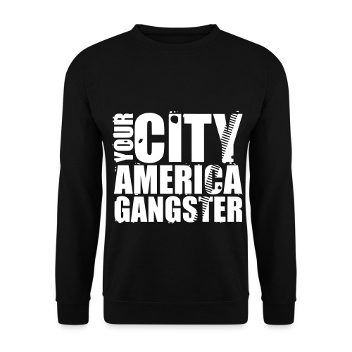 Sweat-shirt homme your city america gangster - Sweat-shirt Homme