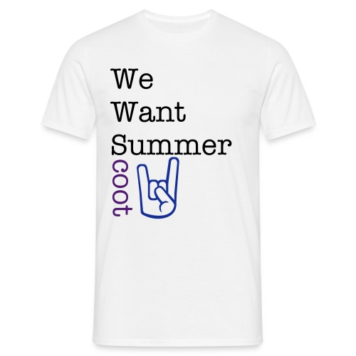 We want... - Männer T-Shirt