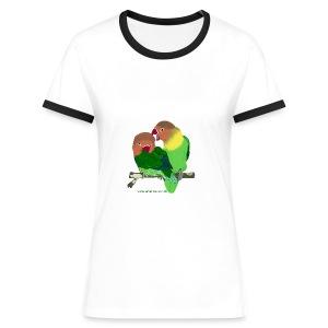 Unzertrennliche - Frauen Kontrast-T-Shirt