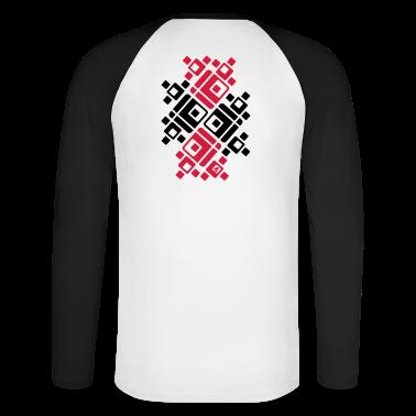 'Crosses' Männer langärmeliges Baseballshirt