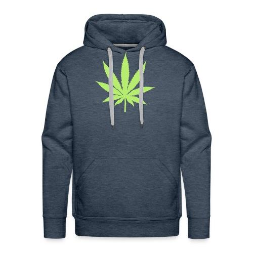 Cannabis - Männer Premium Hoodie