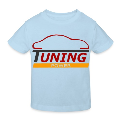 T shirt enfant tuning power - T-shirt bio Enfant