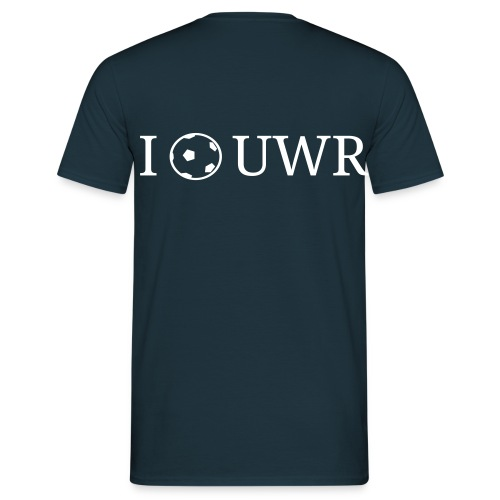 I Love UWR (Herren) - Männer T-Shirt
