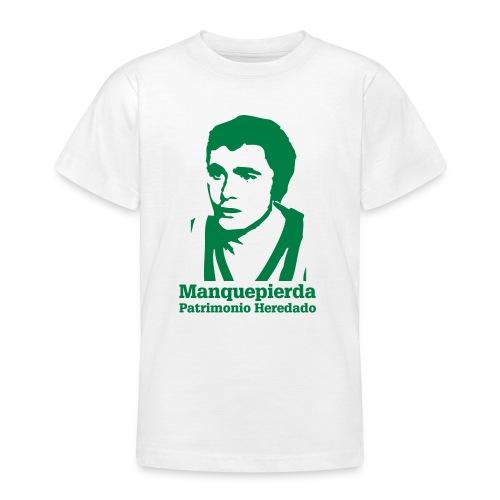 Camiseta Adolescente Patrimonio Heredado - Camiseta adolescente