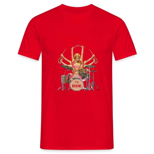 The Divine - Drummer - Men's T-Shirt