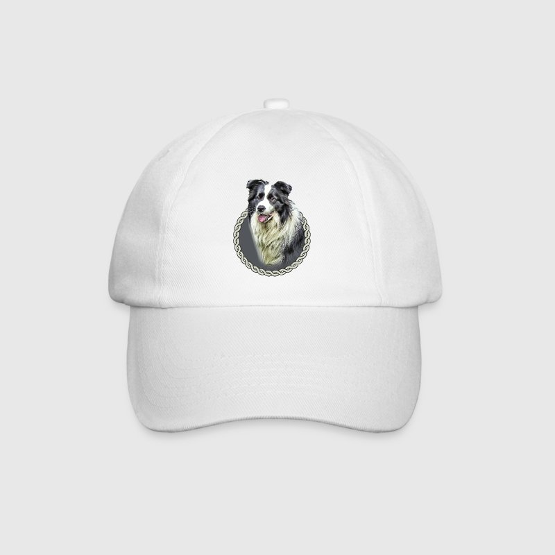 Border Collie 001 Caps & Hats - Baseball Cap