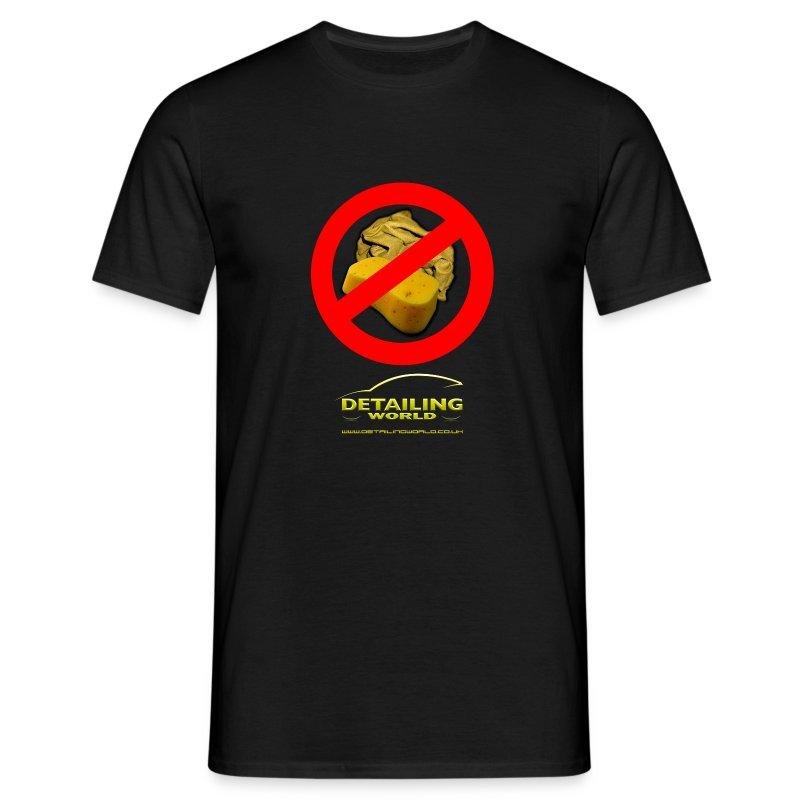 Detailing World 'No Sponge or Leathers' T-Shirt - Men's T-Shirt