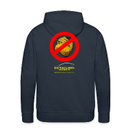 Hoodies & Sweatshirts ~ Men's Premium Hoodie ~ Detailing World 'No Sponge or Leathers' Hooded Fleece Top