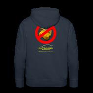 Hoodies & Sweatshirts ~ Men's Premium Hoodie ~ Detailing World 'No Sponge or Leathers' Hooded Fleece Top