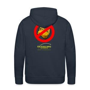 Detailing World 'No Sponge or Leathers' Hooded Fleece Top - Men's Premium Hoodie