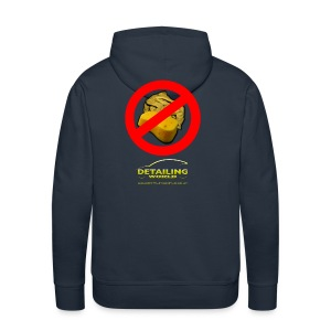 Detailing World 'No Sponge or Leathers' Hooded Fleece Top - Men's Premium Hoodie