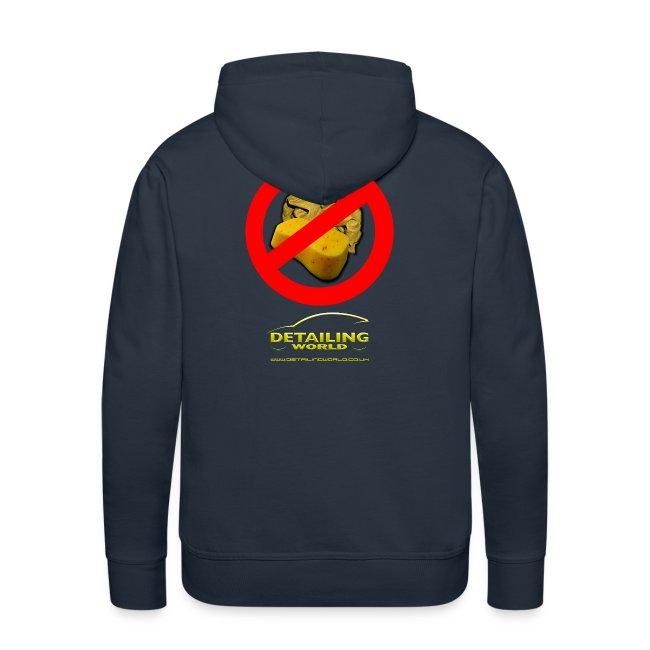 Detailing World 'No Sponge or Leathers' Hooded Fleece Top