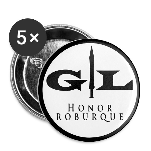 GL Buttons - Buttons groß 56 mm (5er Pack)