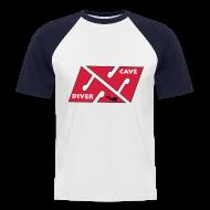 Tee shirts ~ Tee shirt baseball manches courtes Homme ~ TSCAVE 02