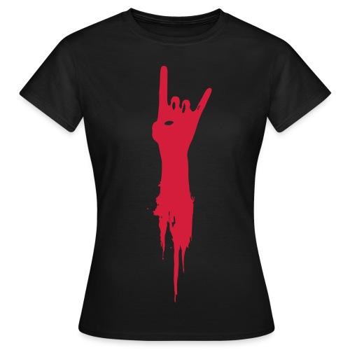 Horns Up! T-shirt - Women's T-Shirt