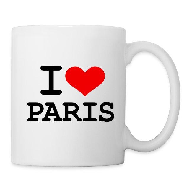 Tasse - I Love Paris