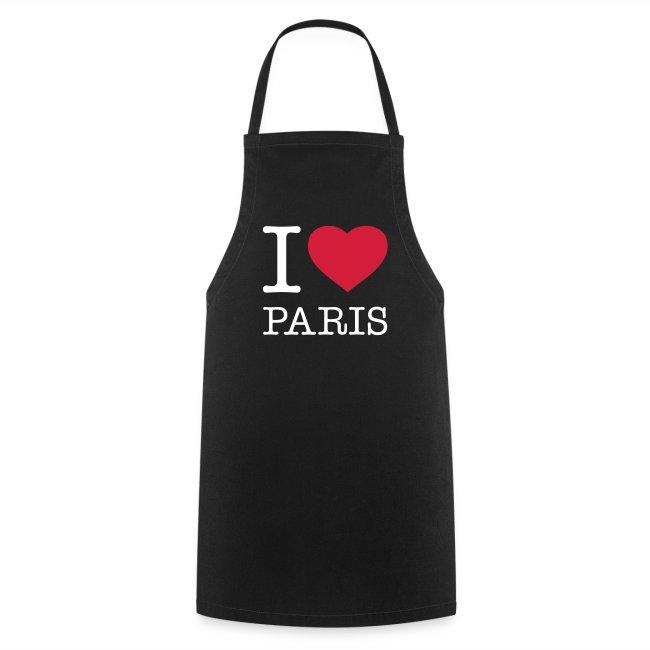 Kochschürze - I Love Paris
