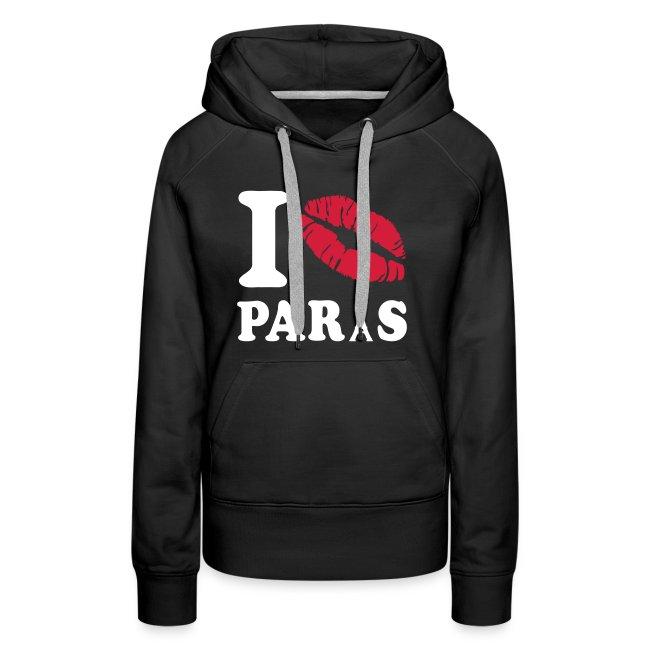 Pullover Frauen - I Love Paris