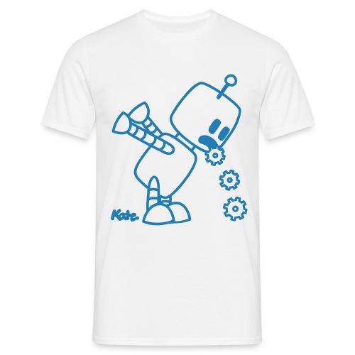 Tee Shirt ROBO KOTZ Bleu paillette - T-shirt Homme