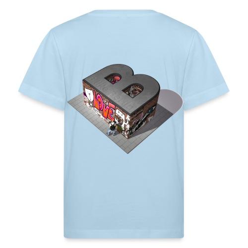Graffiti B like Berlin - Kinder Bio-T-Shirt