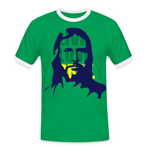 Live Love PrayFootball FanShirt - Men's Ringer Shirt