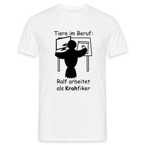 T-Shirt -- Krah-fiker (Rabe) - Männer T-Shirt