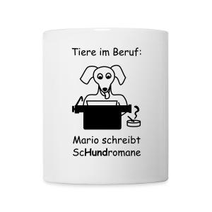 T-Shirt -- Tiere im Beruf: Sc-Hund-romane - Tasse