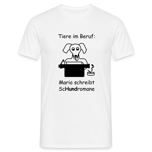T-Shirt -- Tiere im Beruf: Sc-Hund-romane - Männer T-Shirt