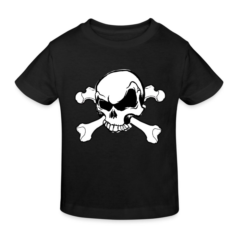 tee shirt t te de mort skull et crossbones spreadshirt. Black Bedroom Furniture Sets. Home Design Ideas
