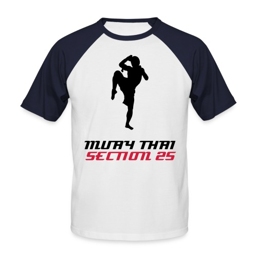 Tee shirt hommes Muay thai section 25 - T-shirt baseball manches courtes Homme