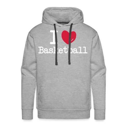 Hooded Sweater Basketbal - Mannen Premium hoodie