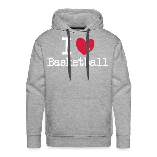 Hooded Sweater Basketbal - Mannen Premium hoodie
