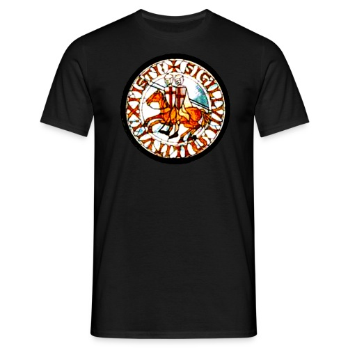 Tempelritter - Männer T-Shirt