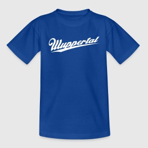 wuppertal_ Kinder T-Shirts - Teenager T-Shirt