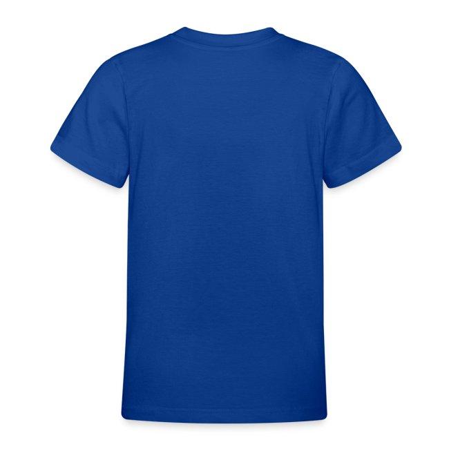 Kinderen T-shirt met smiley opdruk met knipoog
