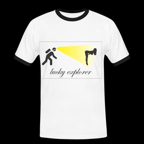 Lucky explorer - Maglietta Contrast da uomo