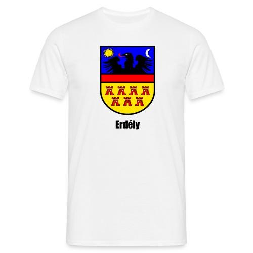 T-Shirt Siebenbürgen-Wappen Erdély - Männer T-Shirt