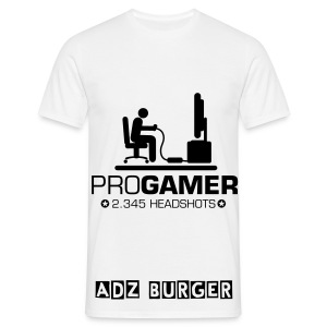 Pro Gamer T White - Men's T-Shirt