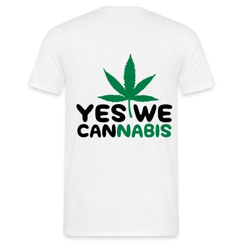 Männer T-Shirt Yes we can - Männer T-Shirt